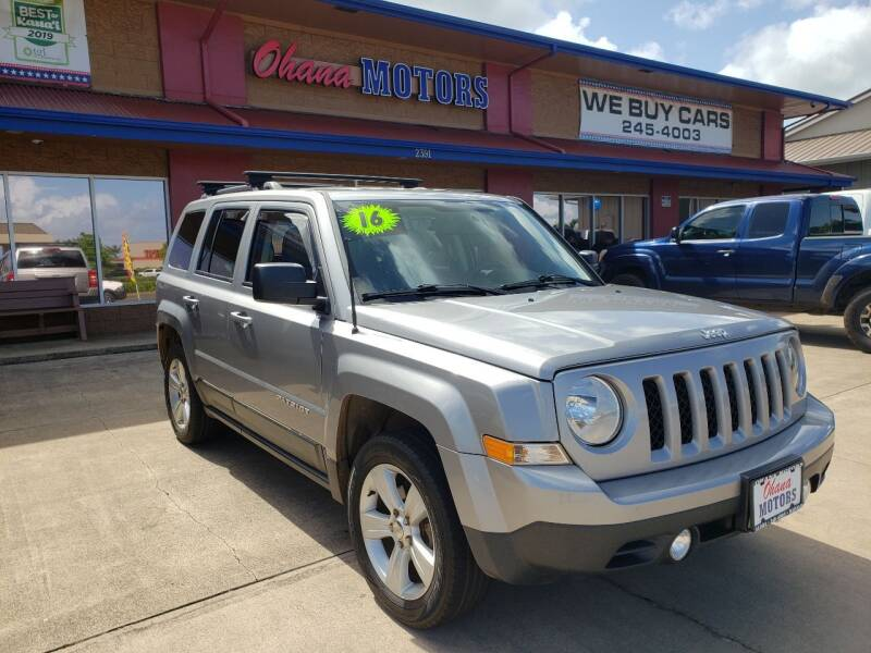2016 Jeep Patriot for sale at Ohana Motors in Lihue HI