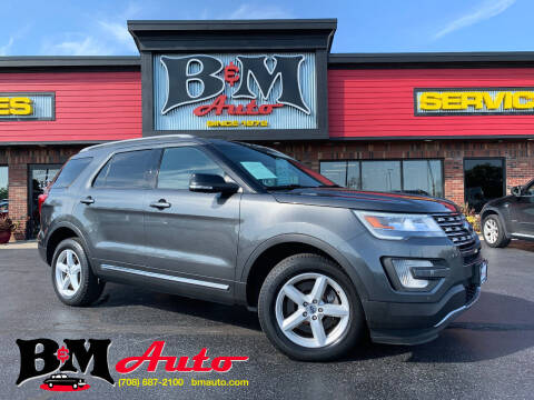 2016 Ford Explorer for sale at B & M Auto Sales Inc. in Oak Forest IL