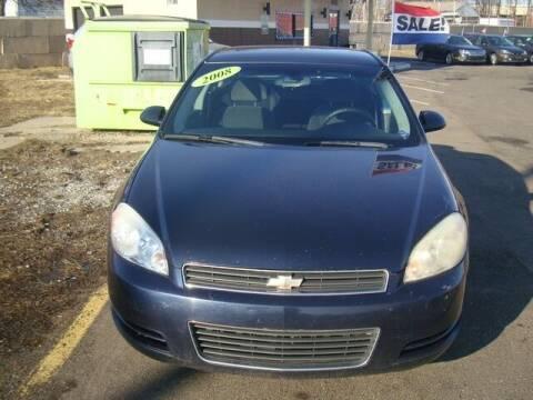 2008 Chevrolet Impala for sale at MOTORAMA INC in Detroit MI
