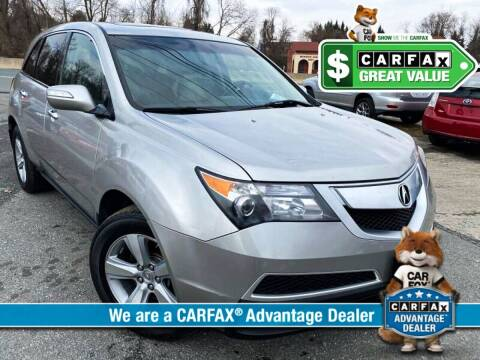 2010 Acura MDX for sale at High Rated Auto Company in Abingdon MD