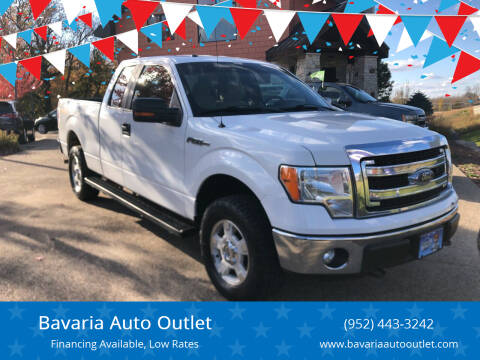 2014 Ford F-150 for sale at Bavaria Auto Outlet in Victoria MN
