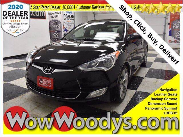 2013 Hyundai Veloster for sale at WOODY'S AUTOMOTIVE GROUP in Chillicothe MO