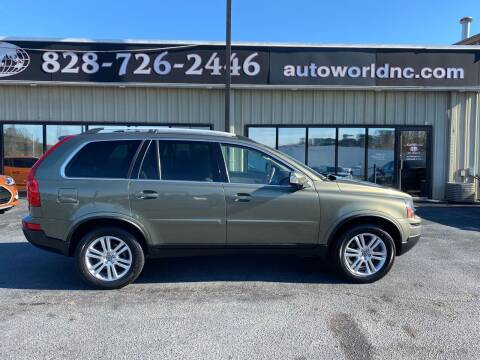 2011 Volvo XC90 for sale at AutoWorld of Lenoir in Lenoir NC