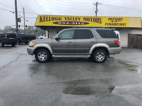 2004 Toyota Sequoia for sale at Kellogg Valley Motors in Gravel Ridge AR