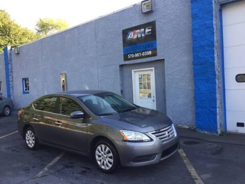 2015 Nissan Sentra for sale at AME Auto in Scranton PA