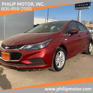 2018 Chevrolet Cruze for sale at Philip Motor Inc in Philip SD