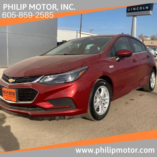 2018 Chevrolet Cruze for sale at Philip Motor Inc in Philip SD