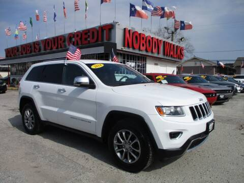 2014 Jeep Grand Cherokee for sale at Giant Auto Mart 2 in Houston TX