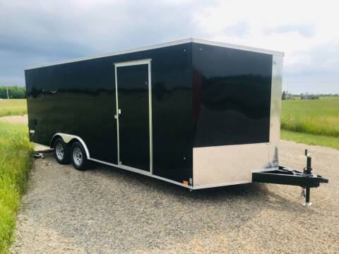 2022 Pace American 8.5x24 V-Nose Tandem 10K Axle for sale at Forkey Auto & Trailer Sales in La Fargeville NY