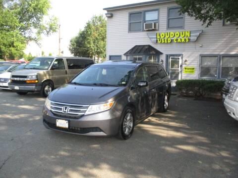 2012 Honda Odyssey for sale at Loudoun Used Cars in Leesburg VA