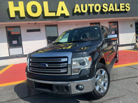 2014 Ford F-150 for sale at HOLA AUTO SALES CHAMBLEE- BUY HERE PAY HERE - in Atlanta GA
