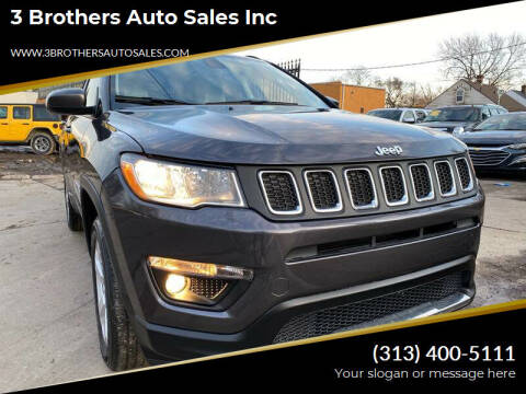 2018 Jeep Compass for sale at 3 Brothers Auto Sales Inc in Detroit MI