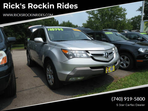 2008 Acura MDX for sale at Rick's Rockin Rides in Reynoldsburg OH