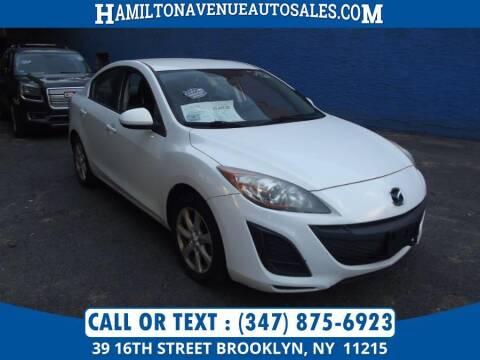 2013 Mazda MAZDA3 for sale at Hamilton Avenue Auto Sales in Brooklyn NY