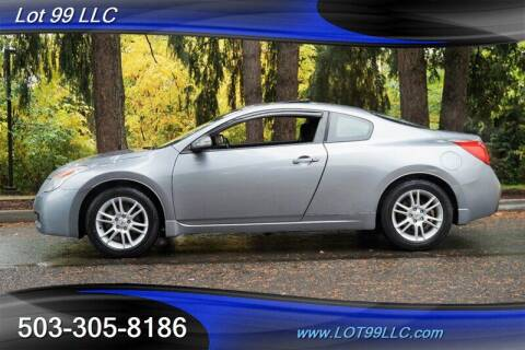 2008 Nissan Altima for sale at LOT 99 LLC in Milwaukie OR