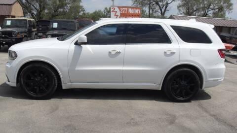 2015 Dodge Durango for sale at 277 Motors in Hawley TX