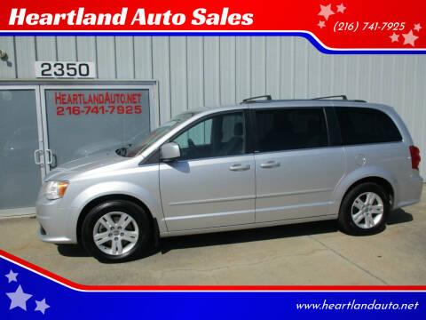 2012 Dodge Grand Caravan for sale at Heartland Auto Sales in Medina OH