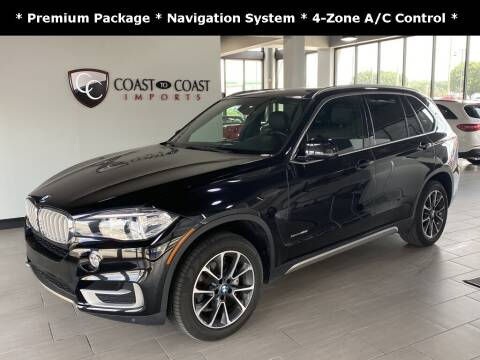 2018 BMW X5 for sale at Coast to Coast Imports in Fishers IN
