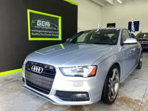 2015 Audi A4 for sale at GCR MOTORSPORTS in Hollywood FL