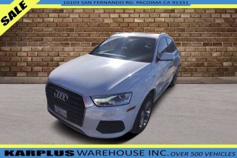 2016 Audi Q3 for sale at Karplus Warehouse in Pacoima CA