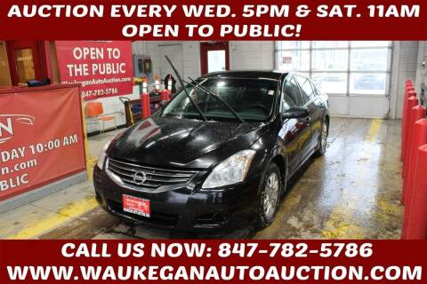 2010 Nissan Altima for sale at Waukegan Auto Auction in Waukegan IL