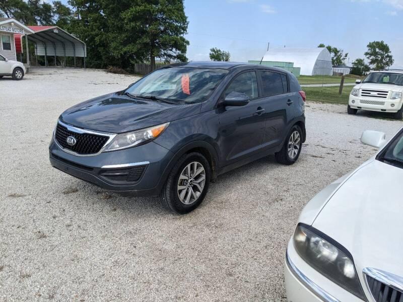 2014 Kia Sportage for sale at Halstead Motors LLC in Halstead KS