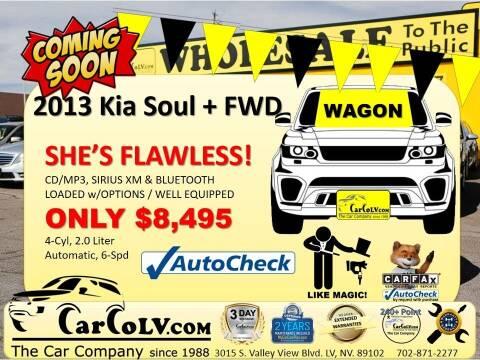 2013 Kia Soul for sale at The Car Company in Las Vegas NV