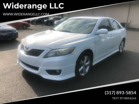 2011 Toyota Camry for sale at Widerange LLC in Greenwood IN