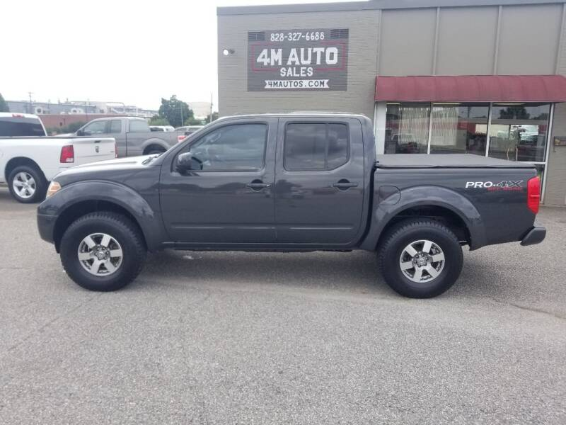2012 Nissan Frontier for sale at 4M Auto Sales | 828-327-6688 | 4Mautos.com in Hickory NC