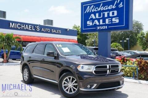 2016 Dodge Durango for sale at Michael's Auto Sales Corp in Hollywood FL
