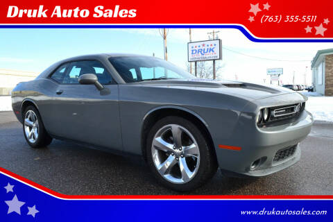 2018 Dodge Challenger for sale at Druk Auto Sales in Ramsey MN