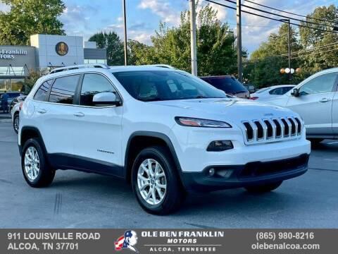 2015 Jeep Cherokee for sale at Ole Ben Franklin Motors-Mitsubishi of Alcoa in Alcoa TN