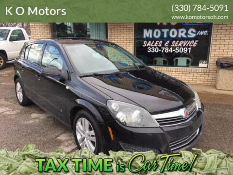 2008 Saturn Astra for sale at K O Motors in Akron OH