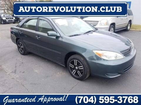 2003 Toyota Camry for sale at Auto Revolution in Charlotte NC