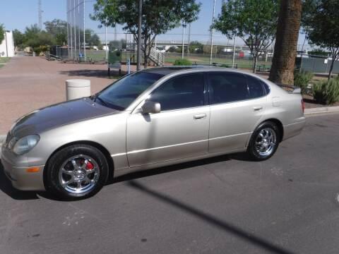 2000 Lexus GS 400 for sale at J & E Auto Sales in Phoenix AZ