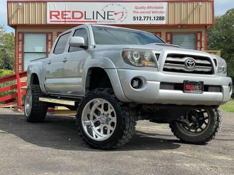 2011 Toyota Tacoma for sale at REDLINE AUTO SALES LLC in Cedar Creek TX