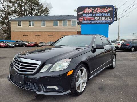 2010 Mercedes-Benz E-Class for sale at Auto Outlet Sales and Rentals in Norfolk VA