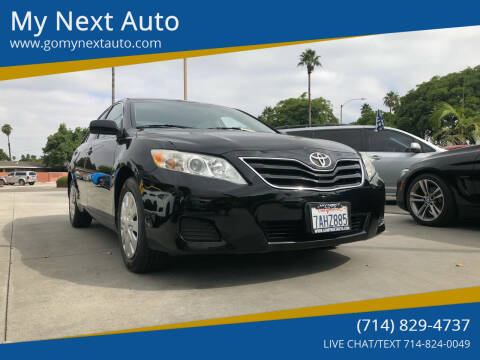 2011 Toyota Camry for sale at My Next Auto in Anaheim CA