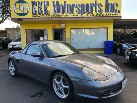 2004 Porsche Boxster for sale at EKE Motorsports Inc. in El Cerrito CA