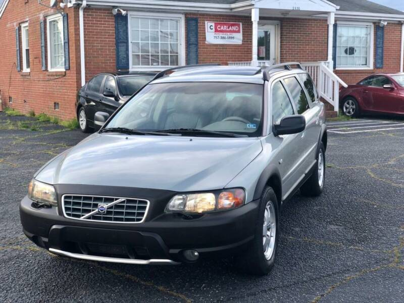 2004 Volvo XC70 for sale at Carland Auto Sales INC. in Portsmouth VA