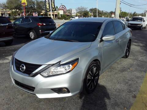 2018 Nissan Altima for sale at YOUR BEST DRIVE in Oakland Park FL