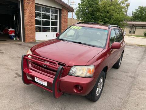 2004 Toyota Highlander for sale at King Car Care in Milwaukee WI
