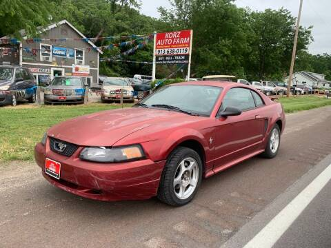 2003 Ford Mustang for sale at Korz Auto Farm in Kansas City KS