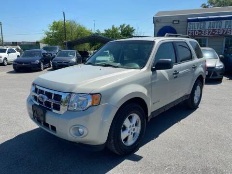 2008 Ford Escape for sale at Silver Auto Partners in San Antonio TX