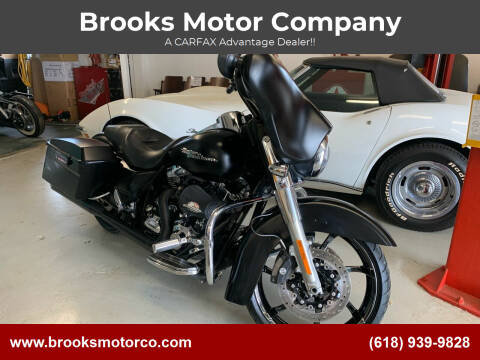2010 Harley-Davidson FLHX for sale at Brooks Motor Company in Columbia IL