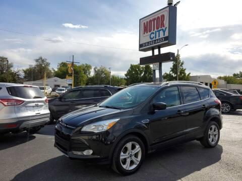 2015 Ford Escape for sale at Motor City Sales in Wichita KS