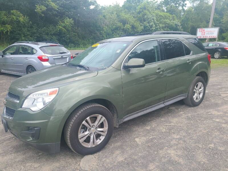 2015 Chevrolet Equinox for sale at B & B GARAGE LLC in Catskill NY