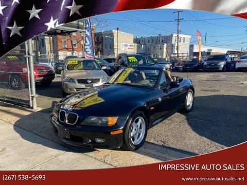 1996 BMW Z3 for sale at Impressive Auto Sales in Philadelphia PA