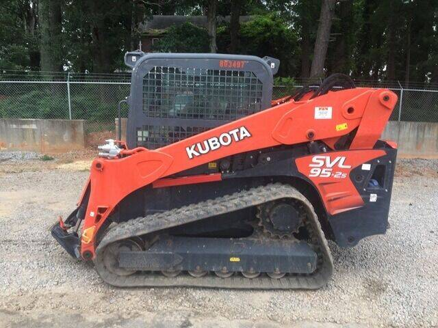 2018 Kubota SVL95-2SHFC for sale at Vehicle Network - The Tractor Center in Raleigh NC