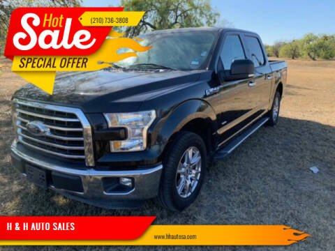 2015 Ford F-150 for sale at H & H AUTO SALES in San Antonio TX